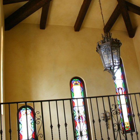 Drywall Stained Glass