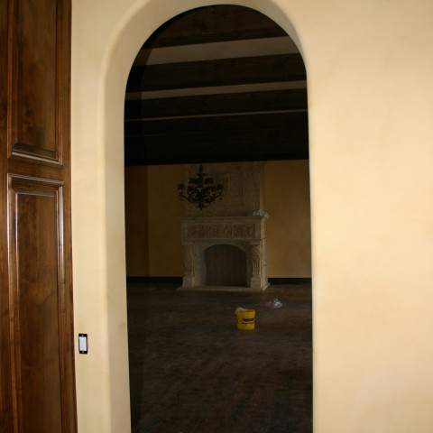 Drywall Arched Doorway